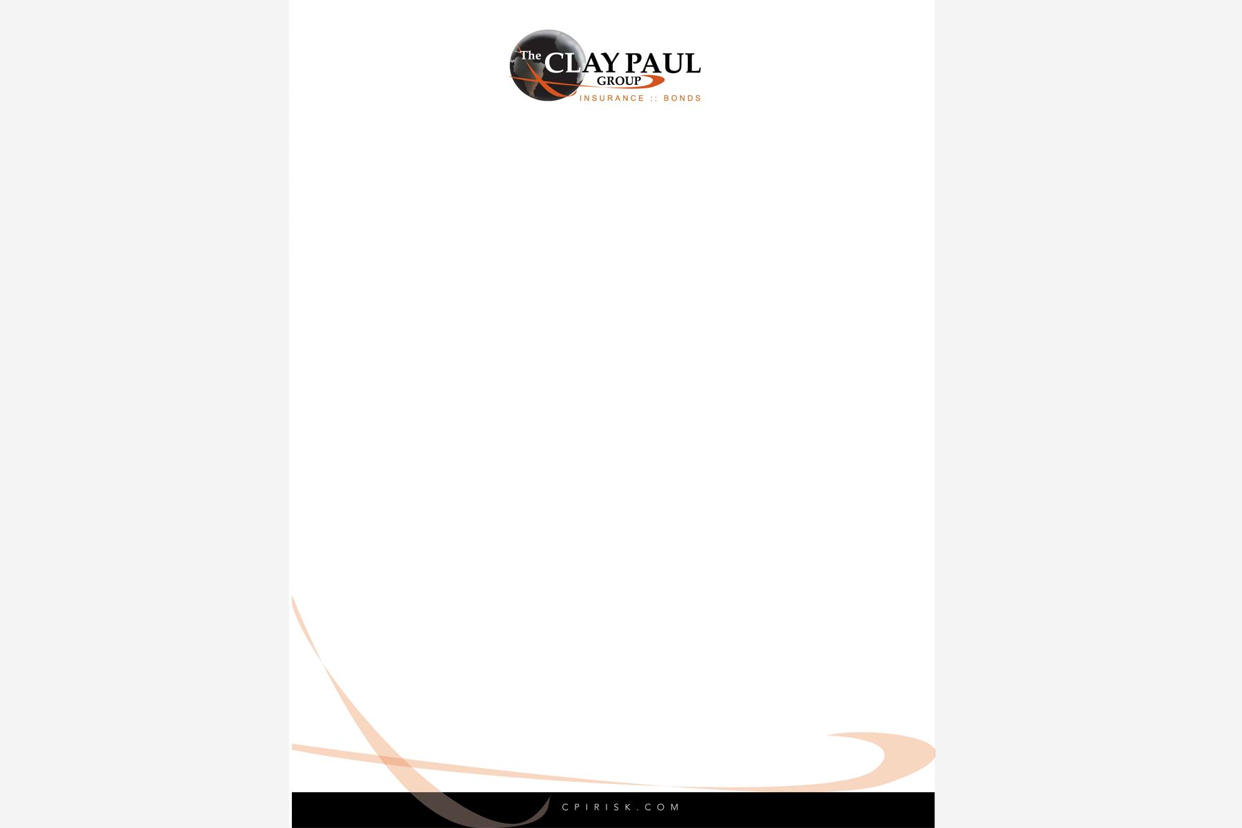 Letterhead Design - Front
