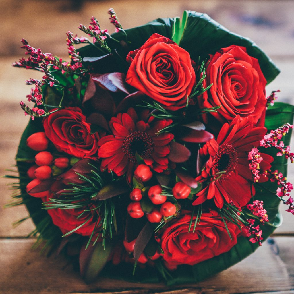 The Beauty of Roses Bouquet - $20