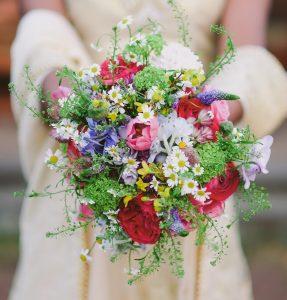 Spring Garden Bouquet - $15