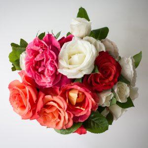 Simple Roses Bouquet - $15