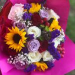 Fall Color Splash Bouquet - $20
