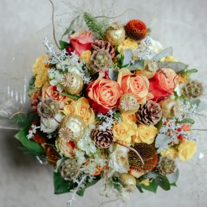 Holiday Elegance Bouquet - $20
