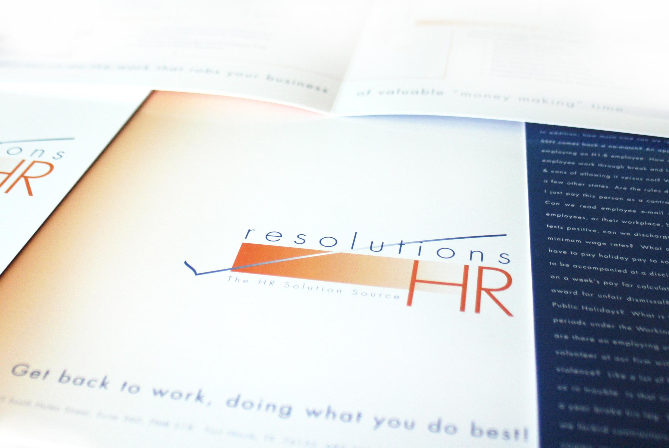 Hr Firm Brochure Design