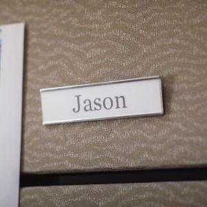 Jason name tag