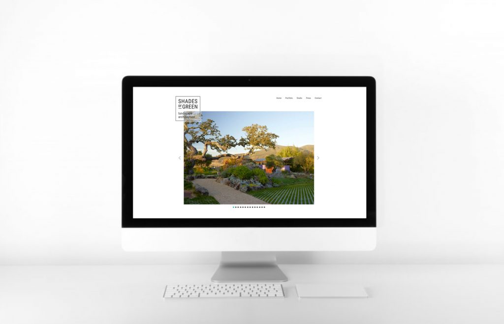 Landscape Architect <br>Custom Website Re-Design