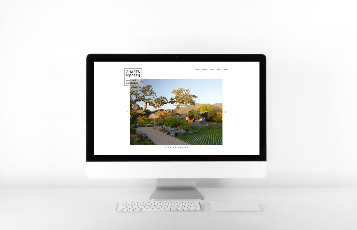 Landscape Architect <br>Custom Website Re-Design